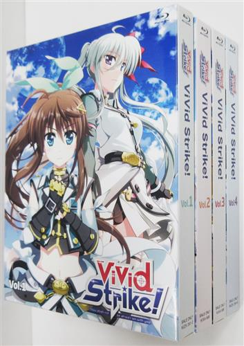 「ViVid Strike! Blu-ray 全4巻セット」が入荷しました!幼馴染みで姉妹のような関係として、貧しいなが