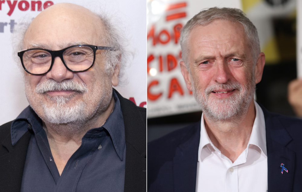 Danny DeVito backs Jeremy Corbyn and shows support for #Grime4Corbyn https://t.co/wbpBHX4m1U https://t.co/dLzvVCGv6w