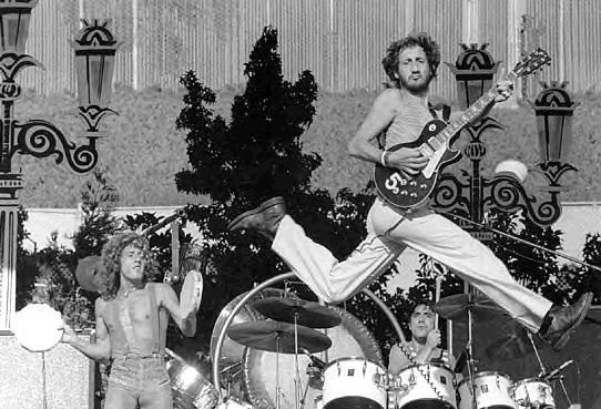 Happy birthday Pete Townshend, 72 today