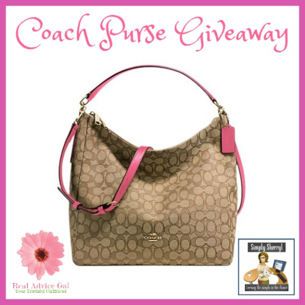 #Win a COACH Convertible Hobo Purse!
