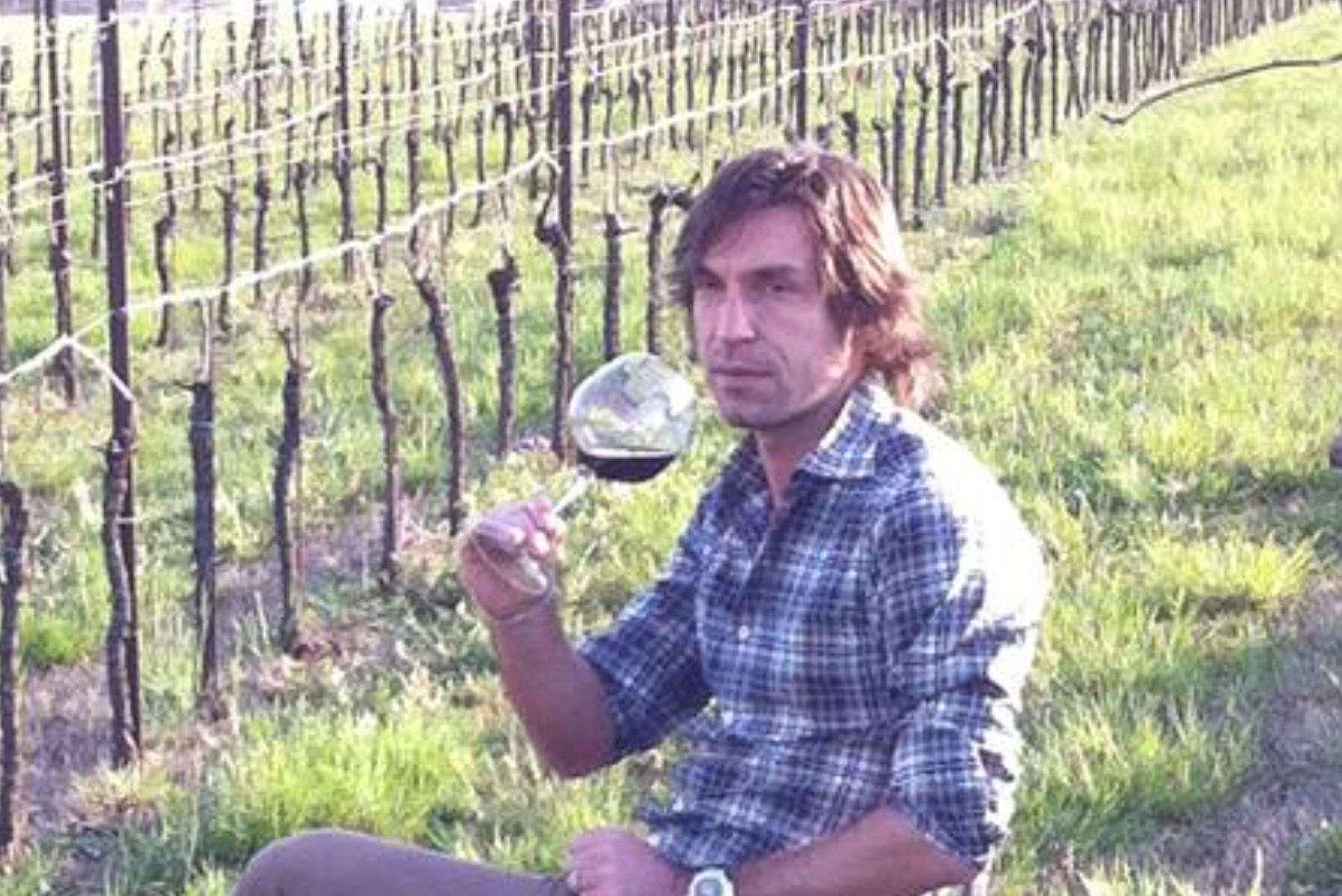 Happy birthday Andrea Pirlo, 38 today!  Like a fine wine...