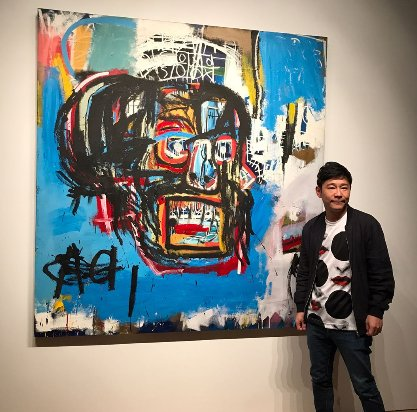 A Jean-Michel Basquiat painting sold for a record $110.5m at auction. https://t.co/6c3hiVFVxw https://t.co/H4InsfPEf8