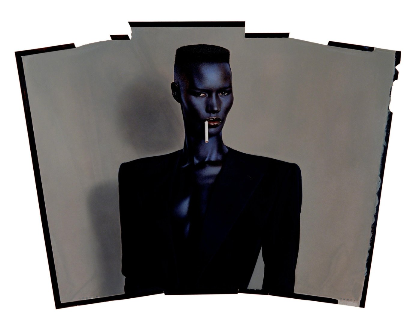 Happy birthday Grace Jones! Portrait by Jean-Paul Goude, 1981