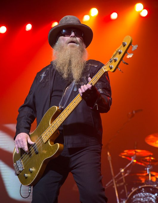 Wishing a Very Happy Birthday to Dusty Hill of today!