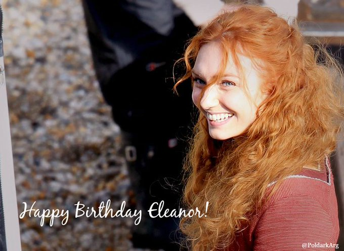 Happy Birthday to our lovely Eleanor Tomlinson!