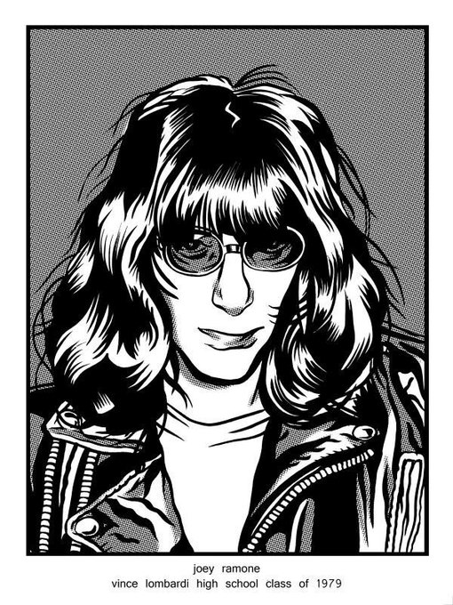 Happy Birthday Joey Ramone  via