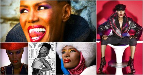 Happy Birthday to Grace Jones (born 19 May 1948)