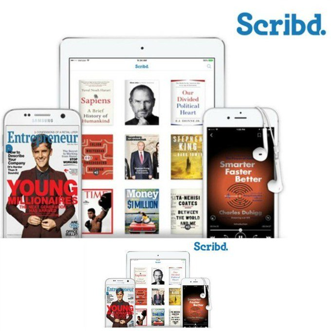 FREE 3-Month Scribd Subscription! Was $27! LIMITED TIME OFFER! FREEbies free freebies