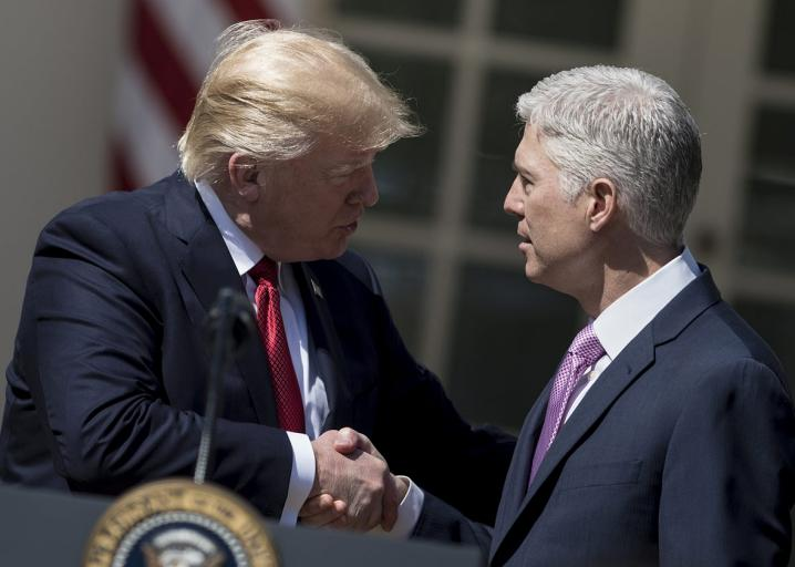 Neil Gorsuch will be the enduring symbol of a disastrous presidency: https://t.co/VPmCwBUFZ2 https://t.co/BhcDc89ztA