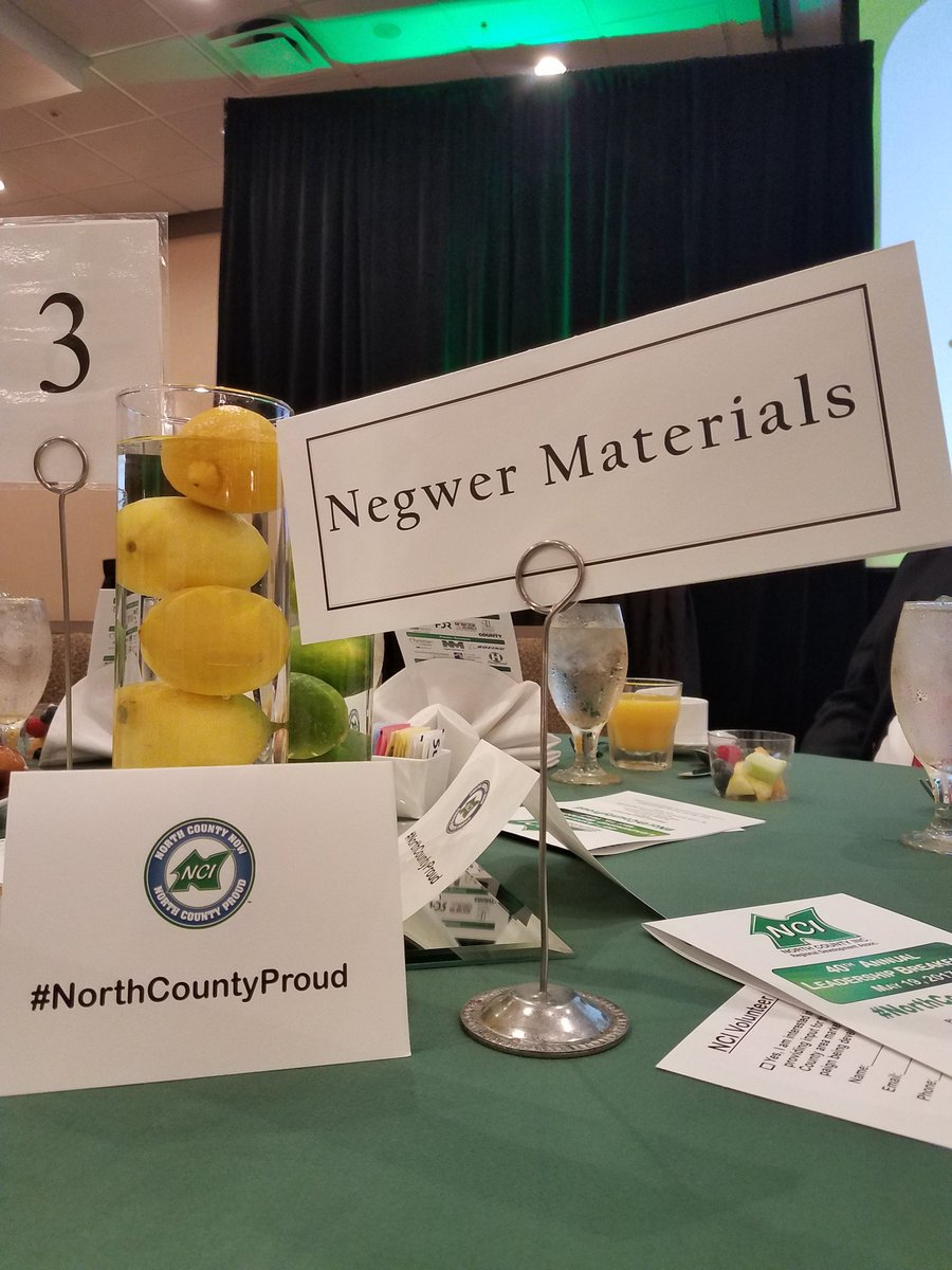 #NorthCountyProud