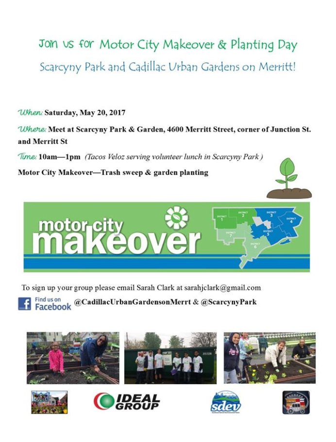 test Twitter Media - Come out and join us for a day of fun and tacos at Motor City Makeover this Saturday, May 20th, at Scarcyny Park and Cadillac Urban Garden! https://t.co/hpaoCN5a2I