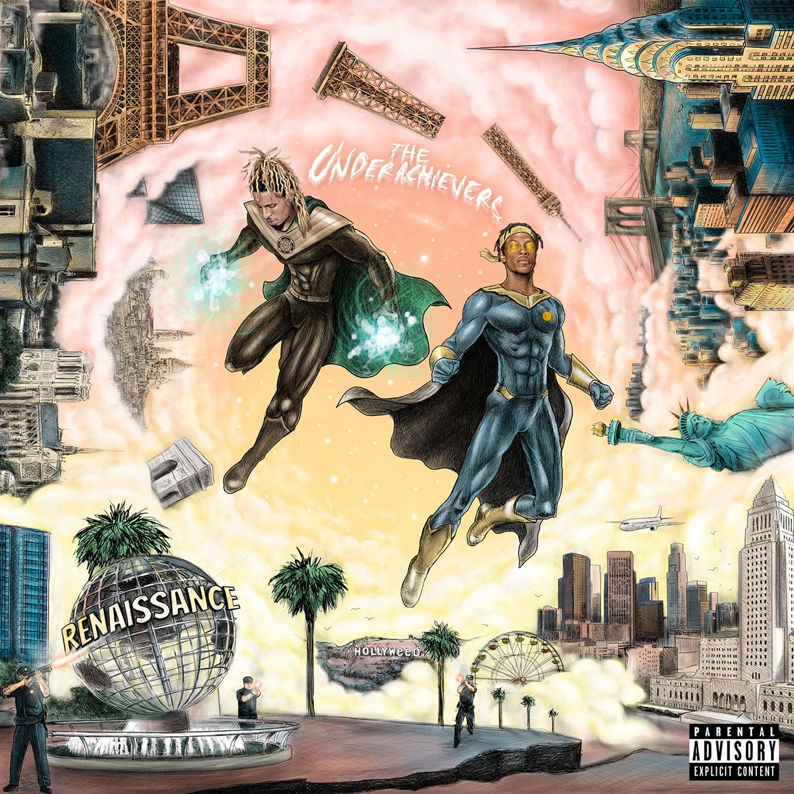 Stream The Underachievers (@THEUALIFESTYLE)'s New Album 'Renaissance' https://t.co/OfR90ZGJ4l https://t.co/i5JJDVImIf