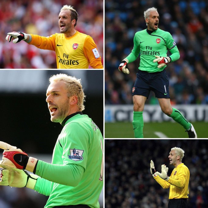 40 years old 175 appearances   70 clean sheets  Happy birthday to Manuel Almunia!