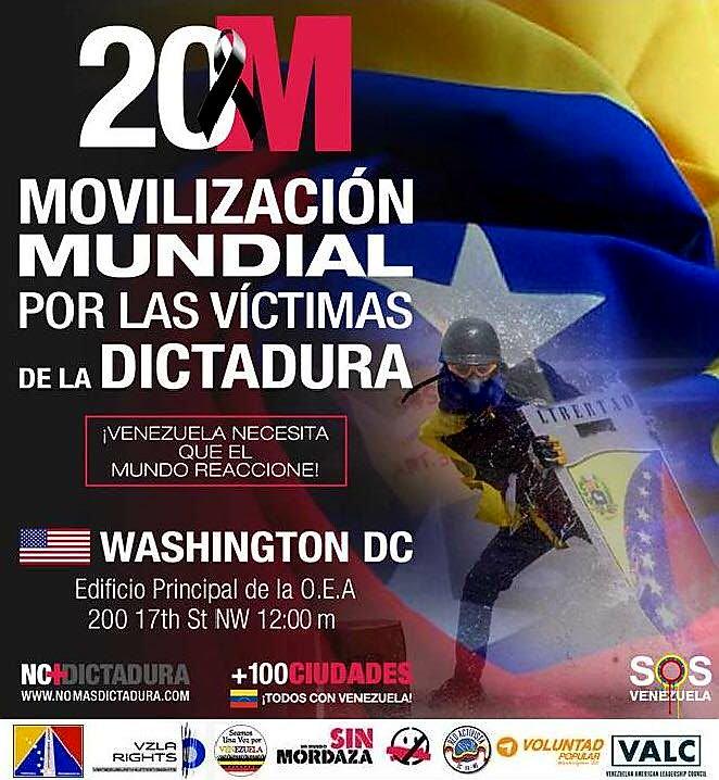 test Twitter Media - Concentración en la #OEA Sábado 20 de Mayo, 12 - 2 pm en contra de la #Dictadura en #Venezuela - #venezuelalibre https://t.co/vGPBBBcbn6