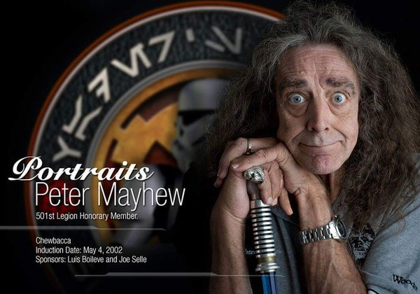 Happy Birthday to Honorary Member Peter Mayhew ( May The Force Be With You!