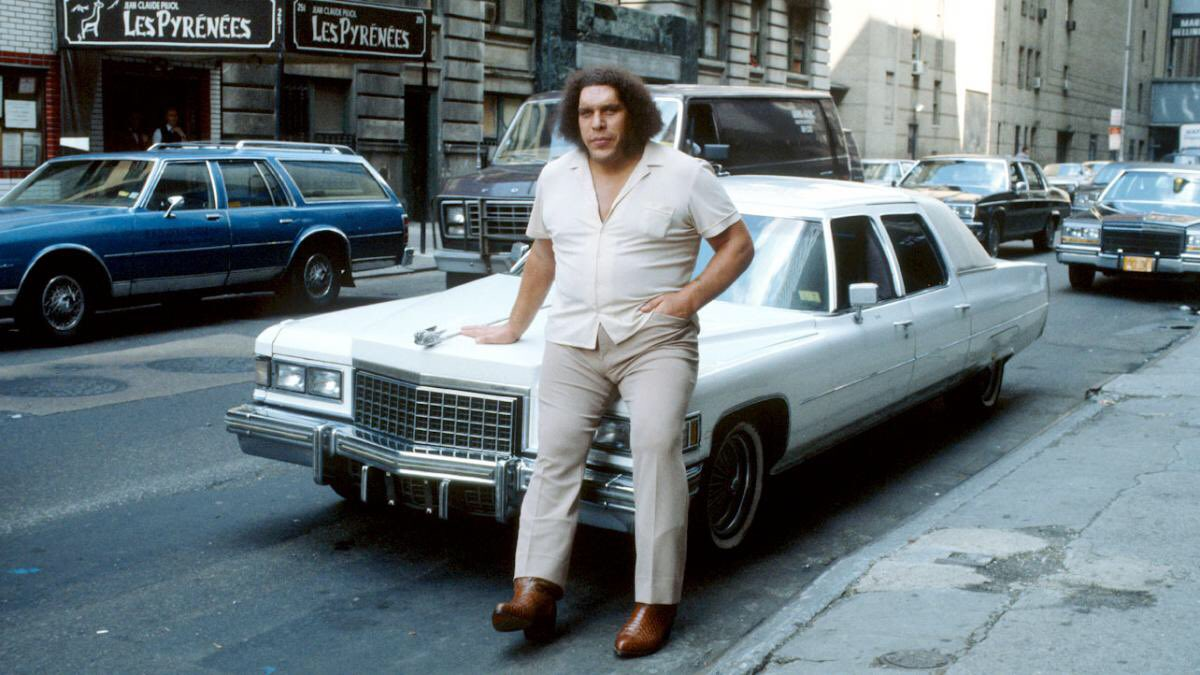 Andre The Giant               1               (   *) Happy Birthday Super Hero, Andre The Giant