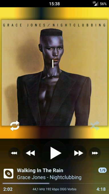 Happy birthday Miss Grace Jones... this 1981 classic