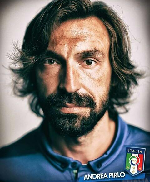 "Andrea Pirlo: ""Football is played with the head, your feet are just the tools.\"" Happy Birthday"