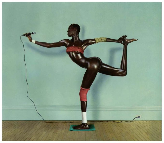 Happy birthday to Grace Jones. Photo by Jean-Paul Goude, 1978.