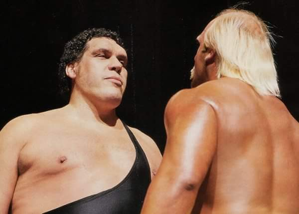 Wrestling Happy Birthday   to  Andre the Giant