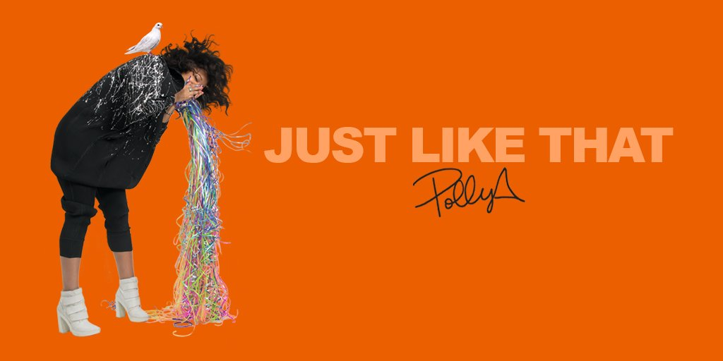 Vibe to @akaPollyA's new single #JustLikeThat available everywhere https://t.co/SfUKVuDQdD https://t.co/V0NwUvdCek