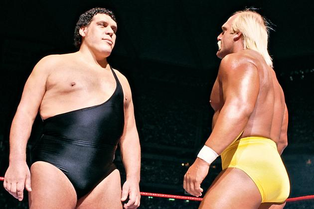Happy Birthday to Andre the Giant(left), who would have turned 71 today!