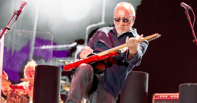 Happy Birthday to Pete Townshend!  The Who come to CMAC on 7/16!