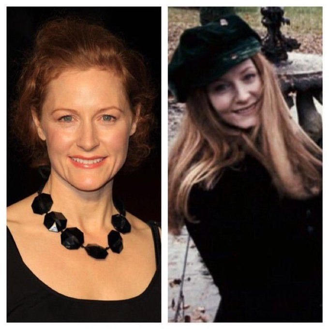 May 19: Happy Birthday, Geraldine Somerville! She played Lily Potter in the films.