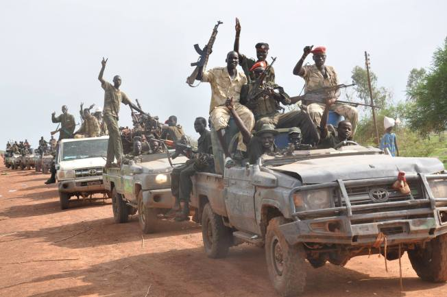 SPLM-IO to canton its forces outside Juba in two weeks