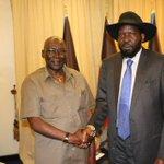 Kiir meets Malong in Juba