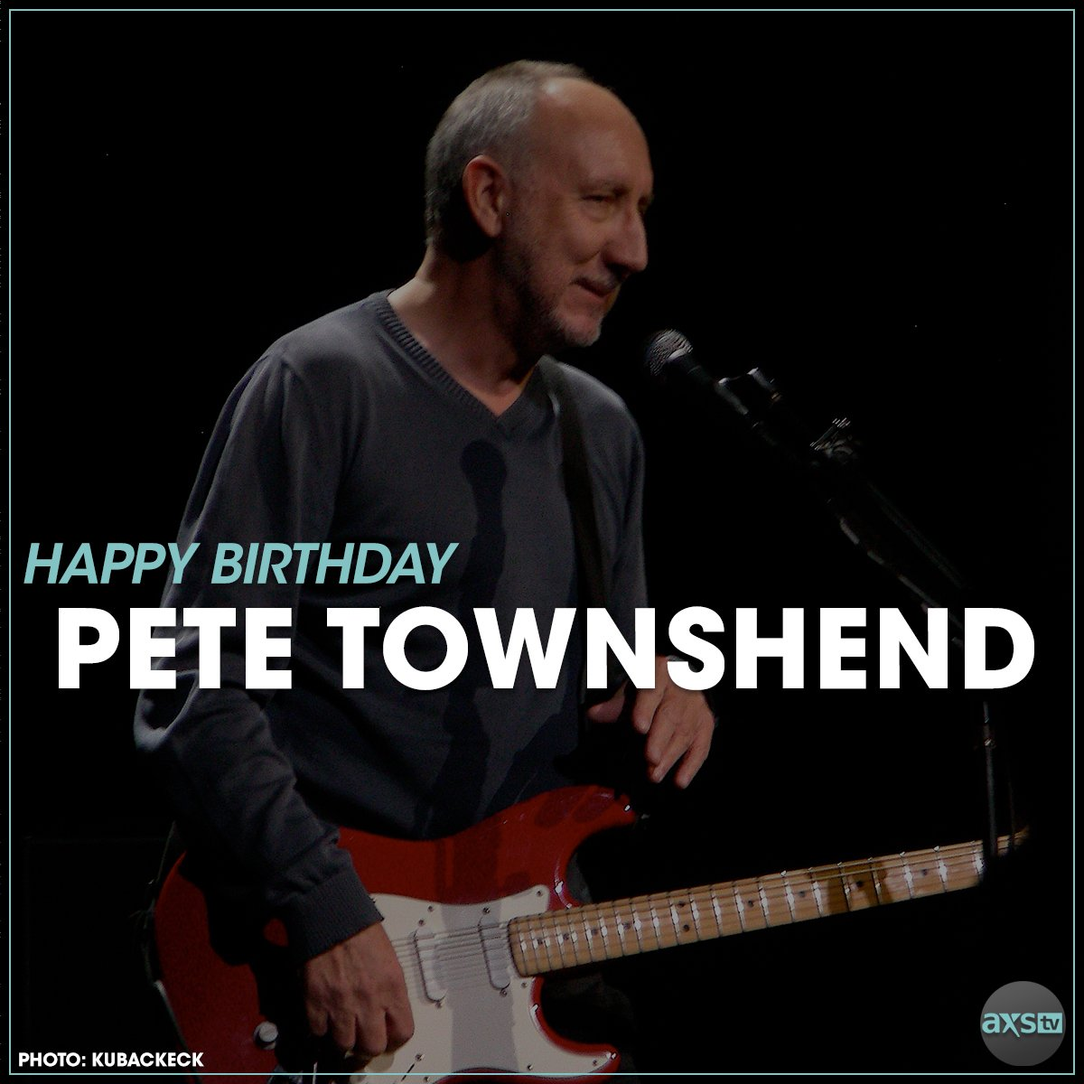 Happy Birthday to Pete Townshend of
