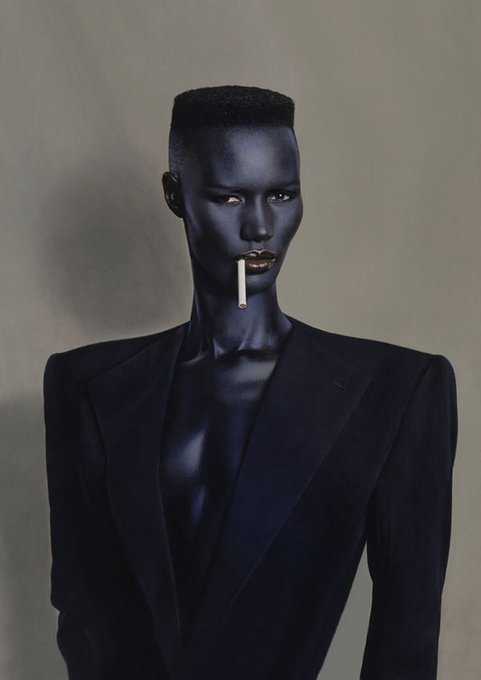 Happy Birthday Grace Jones, who is whatever age she fucking wants to be today.
