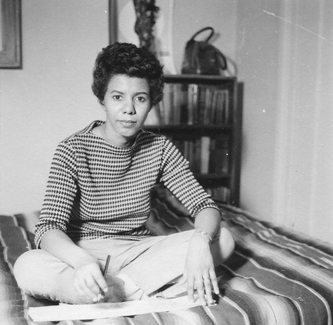 """To be young, gifted and black.\"" Happy birthday to the inimitable Lorraine Hansberry Nina Simone was right."