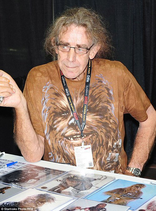 Happy birthday to the amazing Peter Mayhew! ¡Feliz cumpleaños