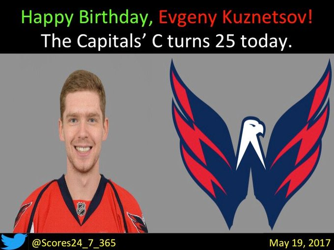 happy birthday Evgeny Kuznetsov!