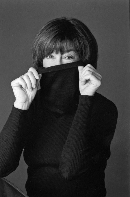 "Happy birthday Nora Ephron! (1941-2012). ""In my sex fantasy, nobody ever loves me for my mind.\"""