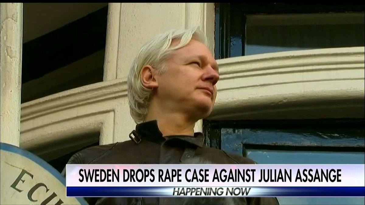 Sweden drops rape case against @JulianAssange.