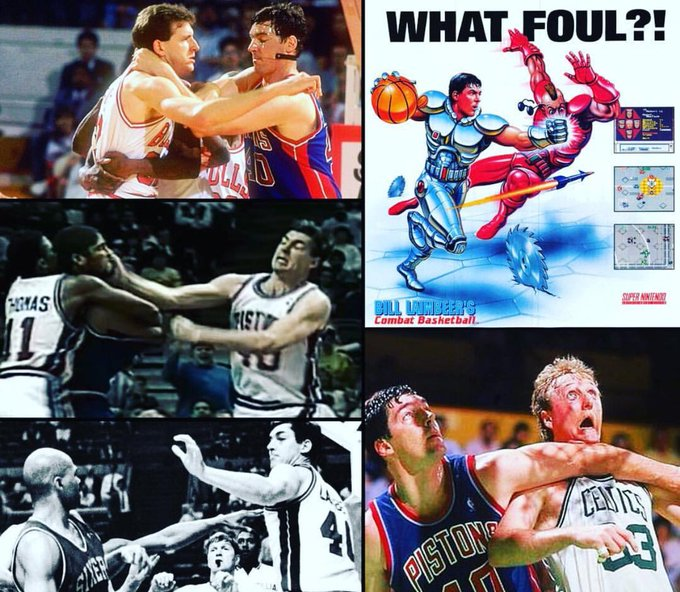 Happy 60th Birthday to the baddest Bad Boy ever, Bill Laimbeer!