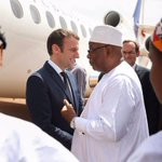 Macron visits French troops in Mali's restive north
