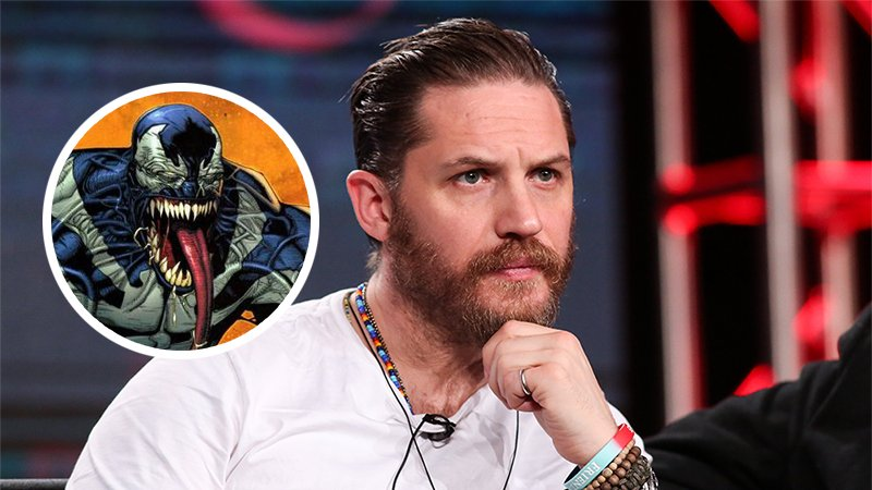 Tom Hardy will star in the #SpiderMan spinoff #Venom from director Ruben Fleischer https://t.co/Y4KDPDkeMs https://t.co/48JdvxSjou