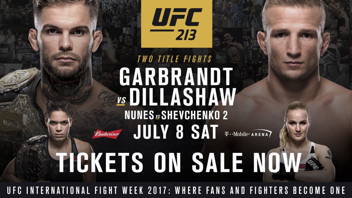 HERE. WE. GO.  #UFC213 �� on sale .... NOW ➡️ https://t.co/LVPFwKmGmy https://t.co/KNidpN7VKy