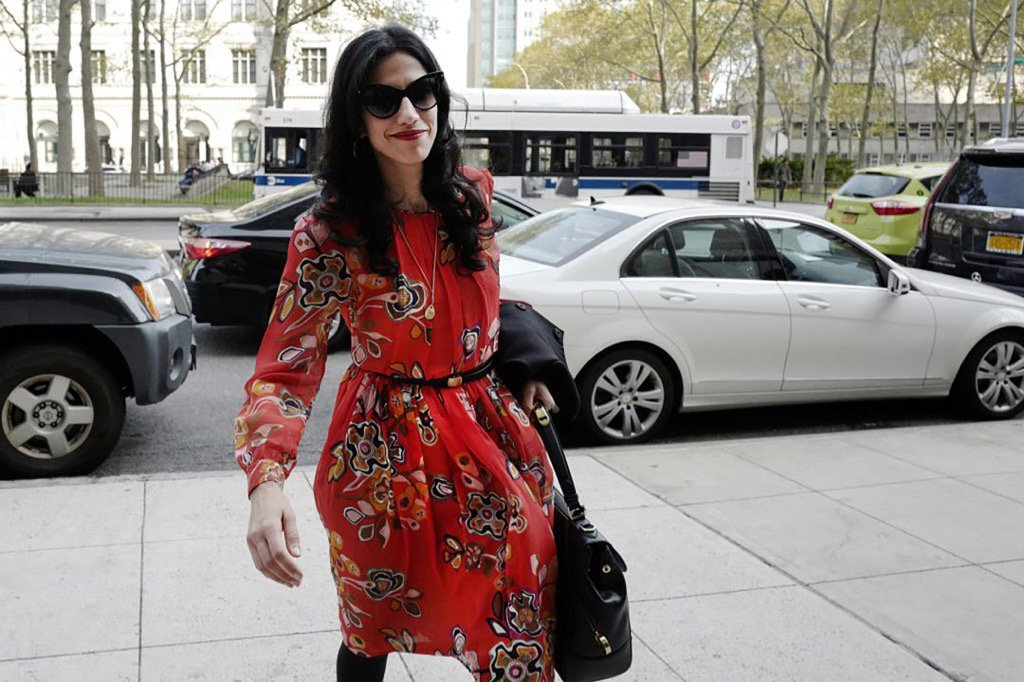 Huma Abedin has filed for divorce from Anthony Weiner, the NY Post reports:  https://t.co/xfoQb6KDRQ https://t.co/OXXrXbzNm2