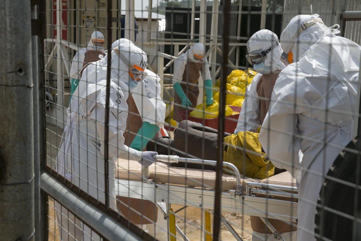 Ebola is breaking out in the DR Congo but the CDC isn't ready to issue a travel advisory