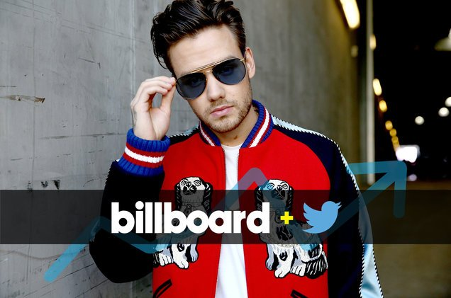 .@LiamPayne's #StripThatDown debuts atop the Billboard + Twitter Trending 140 chart