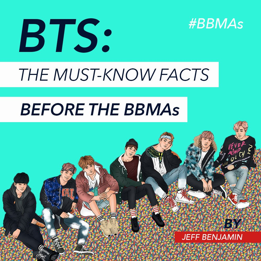Everything you need to know about @BTS_twt before the #BBMAs written by @Jeff__Benjamin: https://t.co/wKnzyrqej8 https://t.co/sBHTHyOPvO