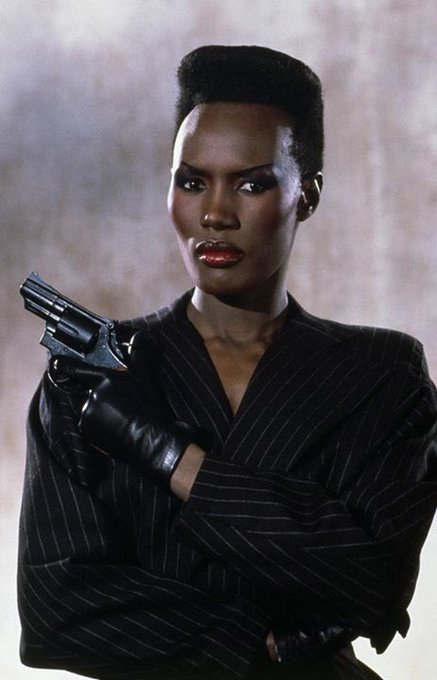Happy birthday to the one and only. Ladies and gentleman, Miss Grace Jones