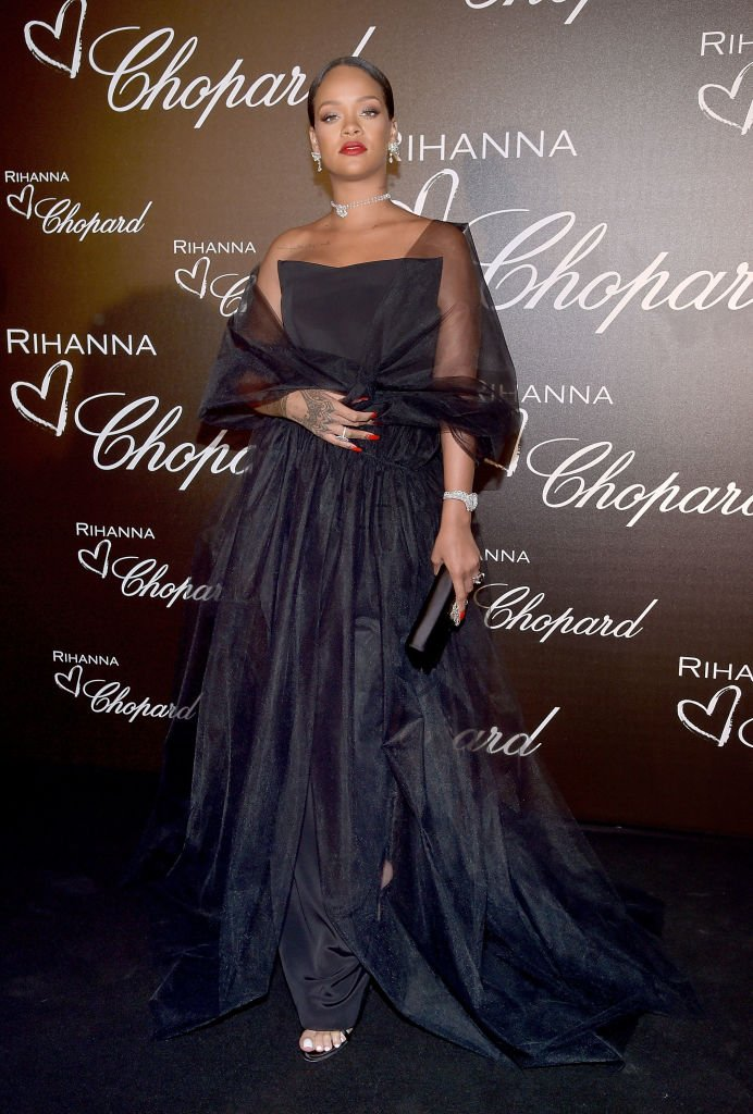 .@rihanna launched her Chopard jewelry collection in Cannes. https://t.co/nh9UID60Vm https://t.co/ukjdVobRSU