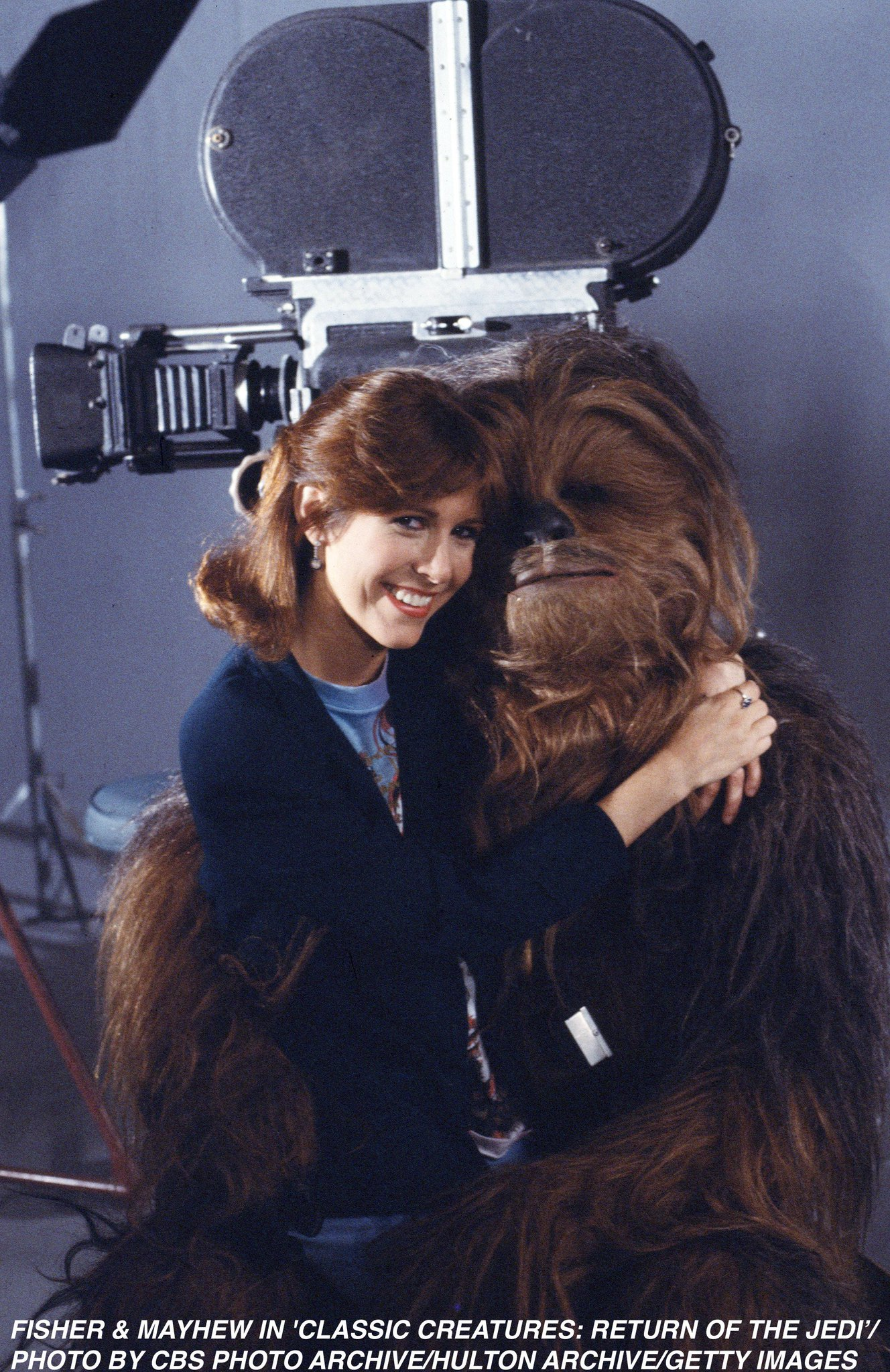 Happy birthday to the great Peter Mayhew, who brought Chewbacca to life in the saga!