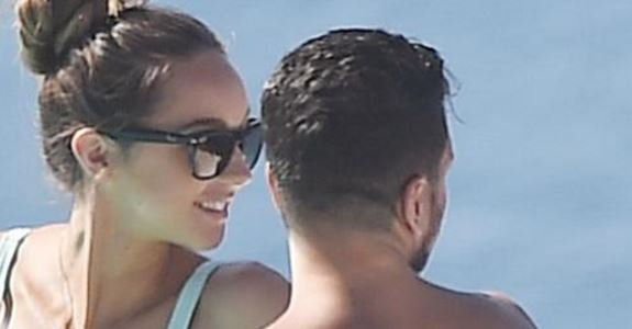 Peter Andre and wife Emily top up their tans as they relax on holiday in Santorini