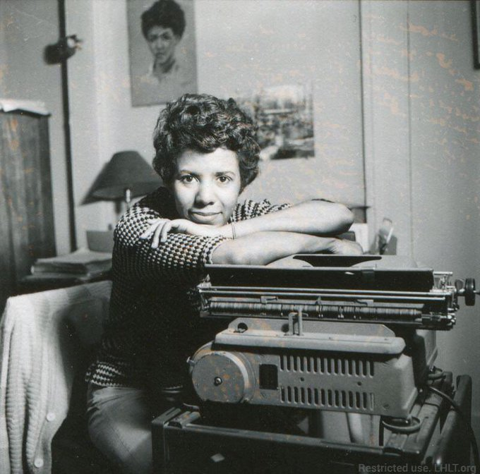 "Happy birthday to literary icon Lorraine Hansberry -- ""to be young, gifted and black.\"""